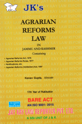 Agrarian Reforms Law In Jammu and Kashmir