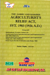 Agriculturists Relief Act, Svt. 1983 (1926 A.D.)