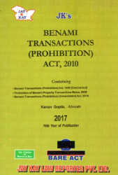 Benami Transactions (Prohibition) Act, 2010