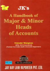 A Handbook of Major & Minor Heads of Accounts