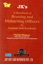 A HandBook Of Drawing And Disbursing Officers In Jammu And Kashmir