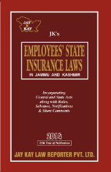 Employees State Insurance Laws In Jammu And Kashmir