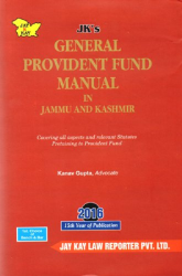 General Provident Fund Manual In Jammu And Kashmir