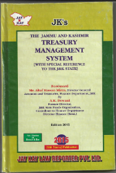 Treasury Management System [With Special Reference To The J&K State]