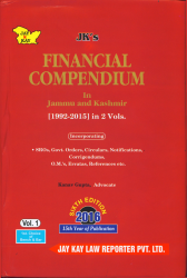 Financial Compendium In J&K In-2 Vols