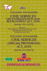 Civil Services Decentralization And Recuritment Act Along with Rules & Civil Services (Special Provisions) Act