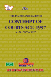 Contempt Of Courts Act, 1997