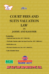 Court Fees And Suits Valuation Law In Jammu And Kashmir