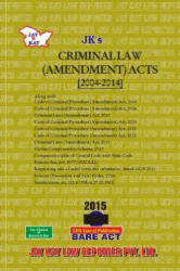 Criminal Law (Amendment) Acts [2004-2014]