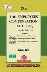 Employees Compenstion Act, 1923 Alongwith Allied Rules