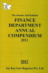 Finance Department Annual Compendium 2011