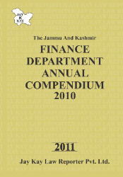 Finance Department Annual Compendium 2010