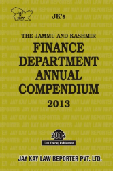 Finance Department Annual Compendium 2013