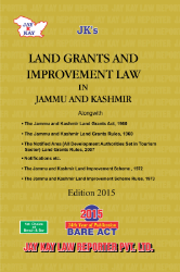 Land Grants And Improvement Law In Jammu And Kashmir