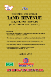 Land Revenue Act Svt. 1996 Along with Allied Acts And Rules