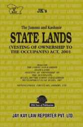 Lands (Vesting Of Ownership To The Occupants) Act, 2001 (State)