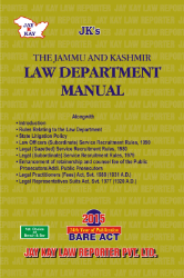 Law Department Manual (J&K)