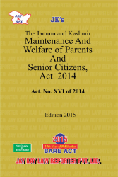 Maintenance And Welfare Of Parents And Senior Citizens, Act. 2014