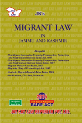 Migrant Law In Jammu And Kashmir