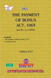 Payment Of Bonus Act, 1965