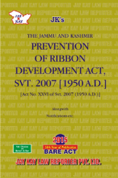 Prevention Of Ribbon Development Act, Svt. 2007 [1950 A.D.]
