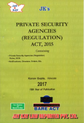 Private Security Agencies (Regulation) Act, 2015