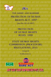 Protection Of Human Rights Act, 1997 Alongwith Rules & Regulations