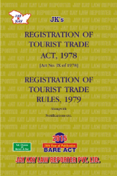 Registration Of Tourist Trade Act, 1978 Alongwith Rules, 1979