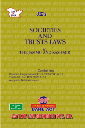 Societies And Trusts Laws In The Jammu And Kashmir