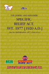 Specific Relief Act, Svt. 1977 [1920 A.D.]