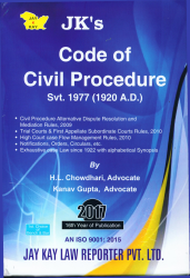 Code Of Civil Procedure Svt. 1977 (1920 A.D.)