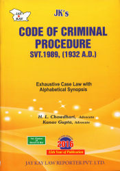 Code Of Criminal Procedure Svt. 1989, (1932 A.D.)