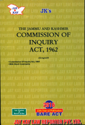 Commission Of Inquiry Act, 1962