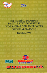 DailyRated Workers/Work-Charged Employees (Regularisation) Rules, 1994