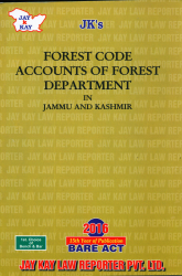 Forest Code Accounts Of Forest Department In J&K