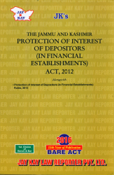 Protection Of Interest Of Depositors (In Financial Establishments) Act, 2012