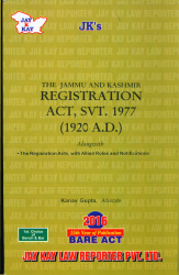 Registration Act, Svt. 1977 (1920 A.D.)