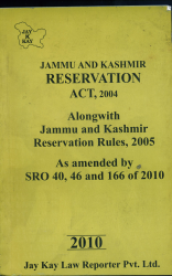 Reservation Act, 2004
