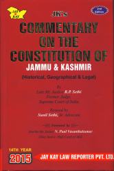 Commentary On The Constitution Of J&K