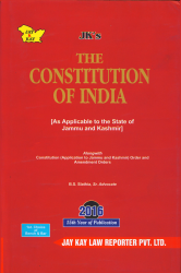 Constitution Of India (As Applicable To The State Of Jammu And Kashmir)