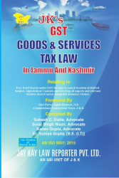 GST Goods & Services Tax Law In Jammu And Kashmir