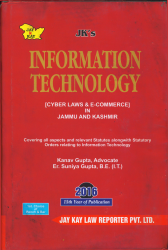 Information Technology (Cyber Laws & E-Commere) In J&K