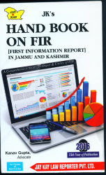 Hand Book On FIR [First Information Report] In J&K
