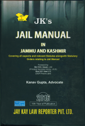 Jail Manual In J&K