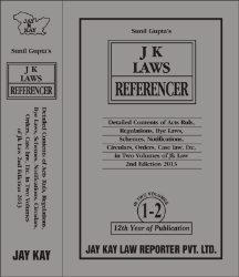 JK Laws Referencer [In 2 Vols.]