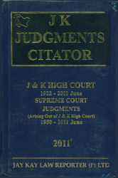 JK Judgments Citator