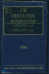 JK Statutes Referencer [Vol. 1-13]