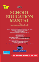 School Education Manual In Jammu And Kashmir