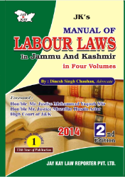 Manual Of Labour Laws In Jammu And Kashmir