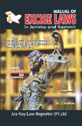 Manual Of Excise Laws In Jammu And Kashmir